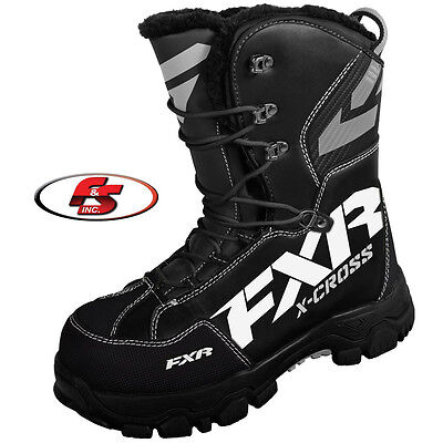 2017 FXR X Cross Boot Black Size 12 Snowmobile Motorcycle Boots