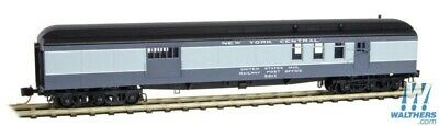 N Scale MICRO-TRAINS 148 00 130 NEW YORK CENTRAL 70' Heavyweight Mail Bagage Car