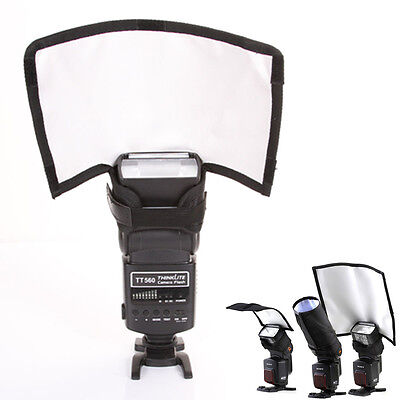 Flash Reflector Bender Snoot Difusor Softbox para Canon Nikon Sigma Sony Yongnuo