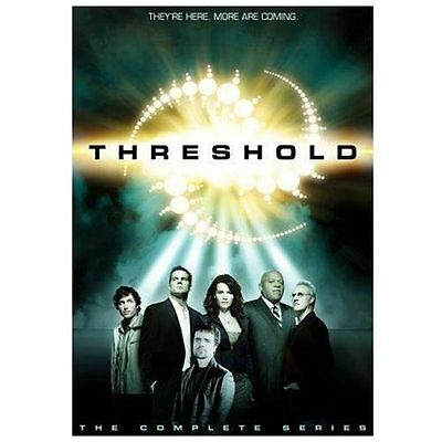 Threshold - The Complete Series (DVD, 2006, 4-Disc Set) NEW