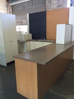 Complete kitchen cupboards  benchtops & more