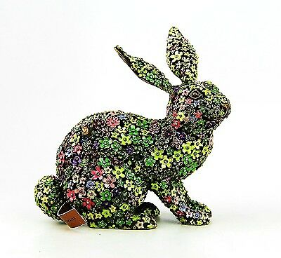 Jay Strongwater Large Limited Of 300 Mille Fiori Bunny Lydia Swarovski New Box