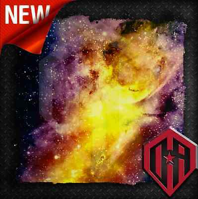 Hydrographic Water Transfer Hydrodipping Film Hydro Dip Galaxy Space Stars