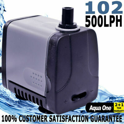 Aqua One Maxi 102 Powerhead Aquarium Fish Tank Pond Water Pump 500lph