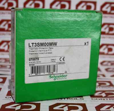 Telemecanique LT3SM00MW Temperature Monitoring Relay - New Surplus Open