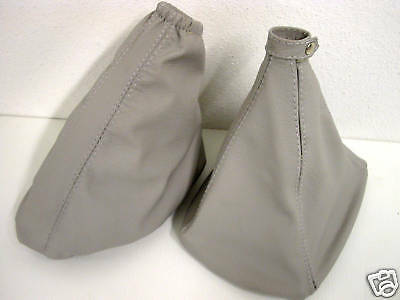 Fiat Stilo Jtd Shift Boot Brake Real Leather Gray
