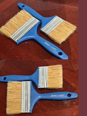 8 x 19mm PAINT BRUSHES IDEAL FOR PAINT VARNISH HOBBY GLOSS WOOD GLUE DIY