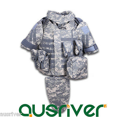 New Adjustable Military Army Tactical Vest Paintball MOLLE Airsoft Combat SWAT
