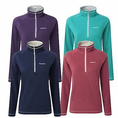 Craghoppers Womens/Ladies Seline Half Zip Warm Winter Fleece Jumper RRP £30