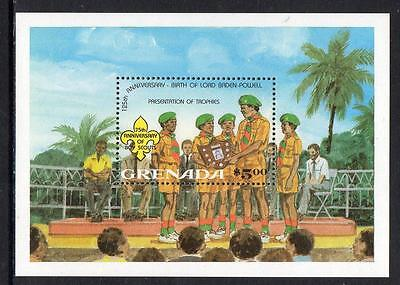 Grenada MNH 1982 The 75th Anniversary of Boy Scout Movement M/S