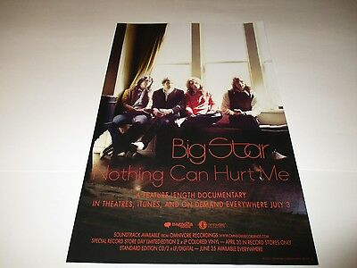BIG STAR NOTHING CAN HURT ME  Poster 2013 Promotional  Poster 11X17