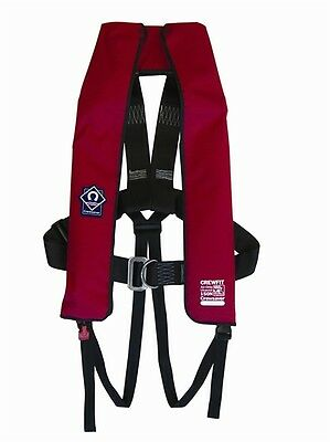 Crewsaver Crewfit Red Harness 150N Automatic Gas Lifejacket