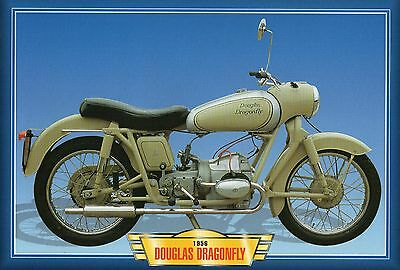 Douglas Dragonfly 1956  Motorcycle             Glossy   Picture (TA10)