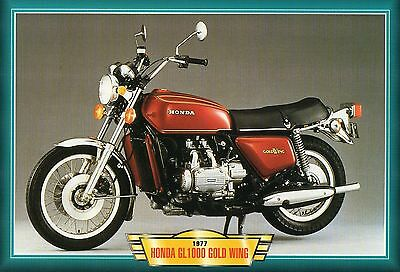 Honda Goldwing1000 Gold Wing 1977    Motorcycle   Glossy   Picture (TA30)