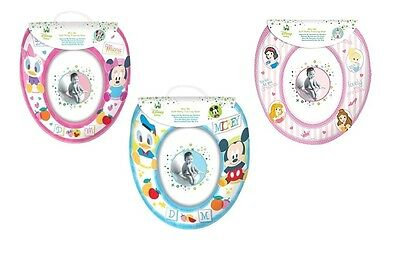 Disney Princess, Minnie or Mickey Potty Toilet Training Seat Soft Padded