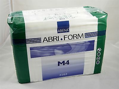 4163 M4 Abena Abri-form Plastic Backed All in Ones Adult Nappy per 42 Diapers