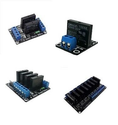 1PCS 5V 1/2/4/8 Channel OMRON SSR G3MB-202P Solid State Relay Module CK NEW