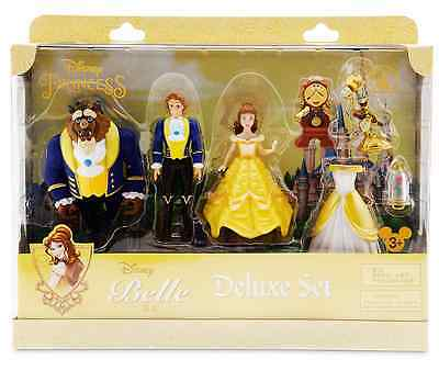 AUTHENTIC DISNEY Beauty and the Beast Deluxe Figure Fashion Set NIB