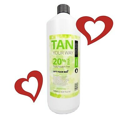 Professional Spray Tan Tanning Solution: for smooth, tanned and toned skin.