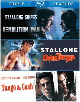 Demolition Man / Over the Top / Tango & Cash [New Blu-ray]