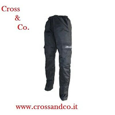 pantaloni cross enduro Mx quad neri Cemoto tg. XL/XXL