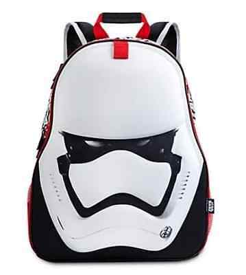 Star Wars The Force Awakens First Order Stormtrooper Backpack Bag NWT