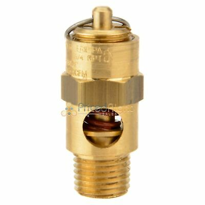 "New 200 Psi 1/4"" NPT Air Compressor Relief Valve / Pop Off For Compressed Air"