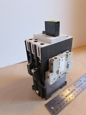 Siemens 3TF44 Magnetic Contactor 3 Pole Made in Germany 230VDC 24VDC 32 Amp