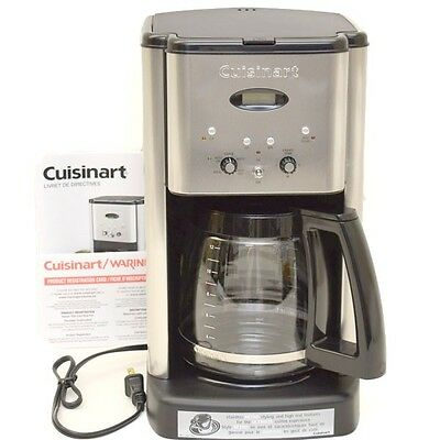 Cuisinart Boat Coffee Maker Brew Central DCC-1200C | Programmable