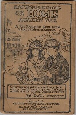 Safeguarding The Home Against Fire, James R Young Insurance Commiss 1926