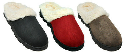 New Women's House Slippers Cushion Indoor/Outdoor Slipper # 1362 Sz 5/6 - 11
