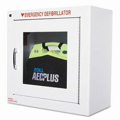 Zoll AED Wall Cabinet, 17w x 9 1/2d x 17h, White (ZOL80000855)