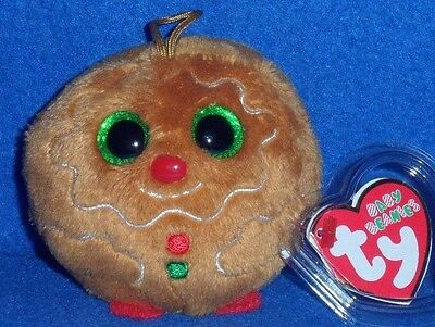 """TY BABY BEANIES - SWEETS the 3"""" GINGERBREAD MAN - MINT with MINT TAGS"""