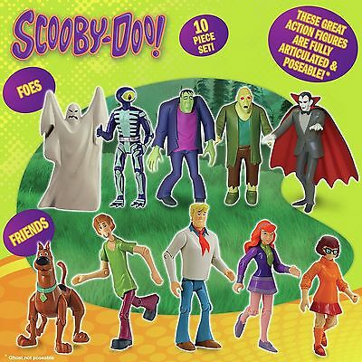 Scooby Doo Friends and Foes Figure Action Pack Monsters
