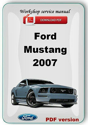 ford mustang 2007 mustang gt 2006 workshop service repair manual rh picclick com Ford GT Manual Transmission 2003 Ford Mustang GT Manual