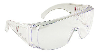 Portwest Visitor Safety Glasses Spectacles Over Specs Eye Protection PW30