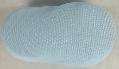 New 2 x Blue Fitted Sheets For Red Castle Cocoonababy Cocoona - Premium Quality