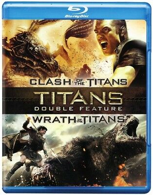 Clash of the Titans (2010) / Wrath of the Titans [New Blu-ray] 2 Pack