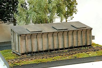 Building & Structure Co S Scale Rico / Rgs Private Coal Bins Laser Kit S140