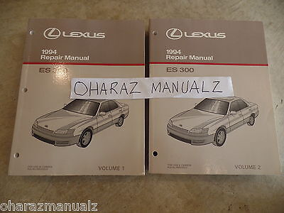 1994 LEXUS ES300 Service Repair Manual Manuals OEM