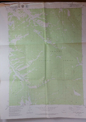 Vintage USGS Topo Map Sylvan Reservoir Grand Co. Colorado Hunting Fishing Hiking