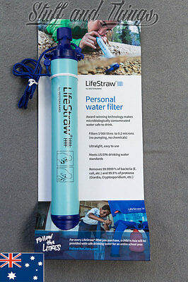 *Genuine* 1 x LifeStraw Personal Drinking Water Purification Filter for Hiking