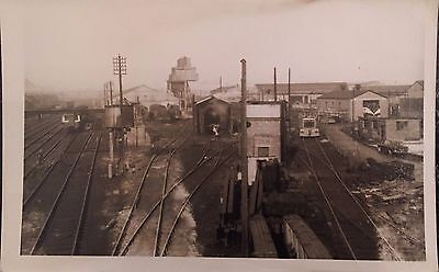 Train Station possibly Belfast or Londonderry Trains Ireland