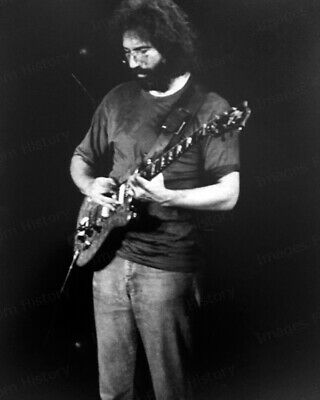 8x10 Print Jerry Garcia Grateful Dead #JG1