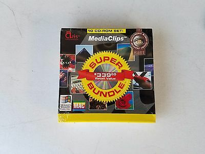 MEDIA CLIPS ARIS ENTERTAINMENT10 CD-ROM Super Bundle Royaty Free photography Art