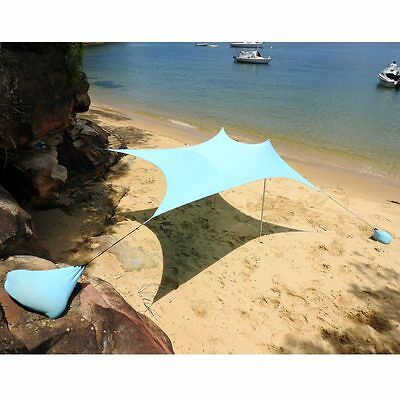 Ezy Sun Shade Beach 2.10m x 2.25m  suits 4 people Christmas sale normally $169
