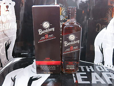 Bundaberg Rum Aged 8 Years 2008 Release Boxed Mint Condition