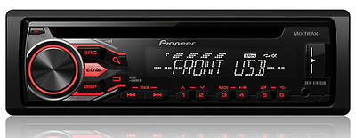 PIONEER CAR DECK DEH-X1810UB CD RECEIVER with MIXTRAX and USB Playback