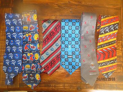6 offical SYDNEY 2000 OLYMPICS promotional TIES Highly Collectable lot 2