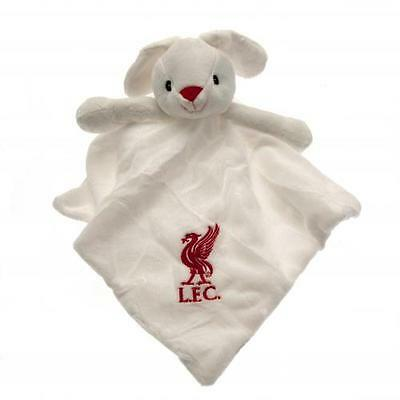 Official Licensed Football Product Liverpool Baby Comforter Bunny Soft Plush New